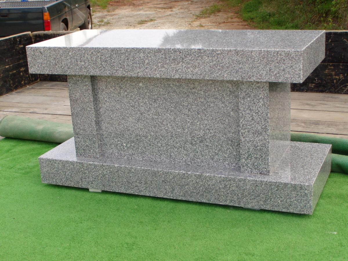 Cremation Benches Matthews Granite